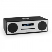 Auna Stanford DAB-CD-rádió, DAB+, bluetooth, USB, MP3, AUX, FM, fekete (VB5-Stanford BK)