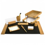 Set de birou din lemn 10 piese Forpus