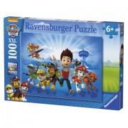Puzzle Patrula Catelusilor Ravensburger 100 piese