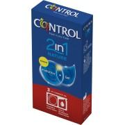 Preservativi classici Control 2in1 Nature 3 pezzi