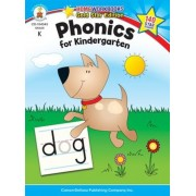 Phonics for Kindergarten, Grade K: Gold Star Edition, Paperback