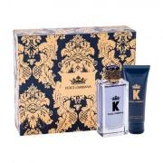 Dolce&Gabbana K confezione regalo eau de toilette 100 ml + balsamo dopobarba 75 ml uomo