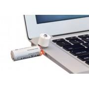 NEXTIME USB Batteri Uppladdningsbart 2-pack