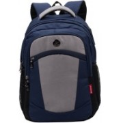 Cosmus Madison Navy Blue 33 L waterproof Bag With laptop compartment 33 L Backpack(Blue)