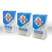 Vemedia Manufacturing B.V. Magnesia S.Pell 45% Polvere Effervescente Gusto Limone Flacone 100 G