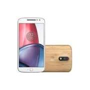 Smartphone Moto G 4 Plus Dual Chip Android 6.0 Tela 5,5 32GB 4G Câmera 16MP - Bambu