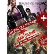 DEAD ISLAND GOTY AND SAINTS ROW: THE THIRD - THE FULL PACKAGE - STEAM - MULTILANGUAGE - WORLDWIDE - PC