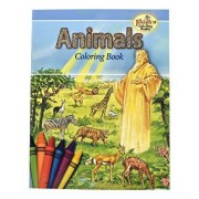 Animals of the Bible Coloring Book: Some of the Animals Named in the Holy Bible, Paperback/Catholic Book Publishing Corp