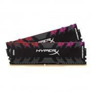 DDR4, KIT 16GB, 2x8GB, 4000MHz, KINGSTON HyperX Predator RGB, CL17 (HX440C19PB3AK2/16)