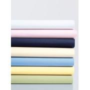 Schlafgut Mako-Jersey-Spannbetttuch Schlafgut blau