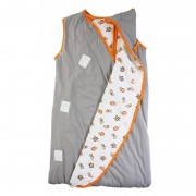 Sac de dormit multifunctional Grey Orange Zoo Animal Travel 6-18 luni