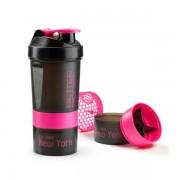 Better Bodies BB Pro Shaker 600 600ml Black/pink