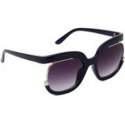 MARC LOUIS Retro Square Sunglasses(Grey)