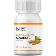 INLIFE Curcumin 95 Advanced Turmeric Supplement 500mg (60 Veg. Capsules)