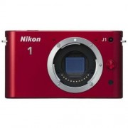 Refurbished-Good-Compact Nikon 1 J1 Red