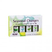 Now Foods Kit de aceites esenciales neutralizador de ambientes 40ml (4-10ml)