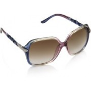 Equal Over-sized Sunglasses(Brown)