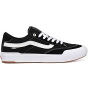 Vans Berle Pro Skate Skor (Black/True White)