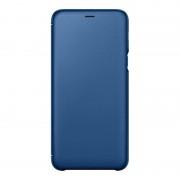 Samsung Capa Flip Wallet Samsung Galaxy A6 Plus 2018 Azul