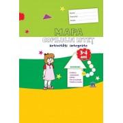 Mapa copilului istet. activitati integrate. Grupa Mica. 3-4 ani