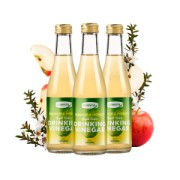 Set Promotional - 3 buc Bautura din otet de cidru de mere si miere de Manuka Comvita, 250ml