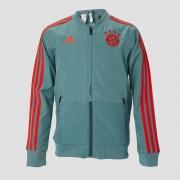 adidas Fc bayern münchen presentatiejas 18/19 groen/grijs kinderen