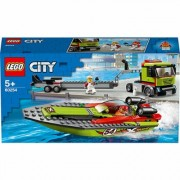 LEGO City 60254 Rennboot-Transporter
