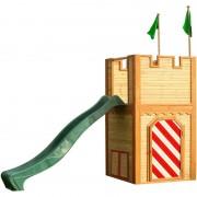AXI Arthur Playhouse: Maisonnette pour enfants, fenêtres intégrées et bois