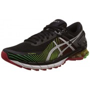 Asics Men's Gel-Kinsei 6 Black, Silver and Red Running Shoes - 6 UK/India (40 EU) (7 US)