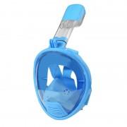 Équipement de plongée pour enfants Full Face Design Masque de plongée pour GoPro HERO4 / 3 + / 3/2/1 (Bleu)