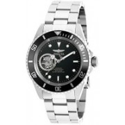 Invicta Black6142 Invicta Men's 'Pro Diver' Stainless Steel Automatic Watch, Color:Silver-Toned (Model: 20433) Watch - For Men