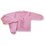 Detské pyžamo - VTÁČIK, ruž veľkosť: 110