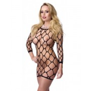 Body Sexy din Plasa- Big Hole Mini Dress