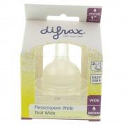 difrax® Flaschensauger Wide M +3m