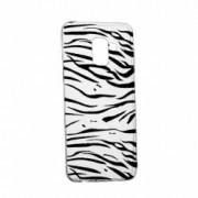 Husa Silicon Transparent Slim Zebra 134 Samsung Galaxy J6 2018