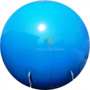 Ganesh Sky Balloon 10 x 10 feet Blue Big Advertising PVC Sky Balloon