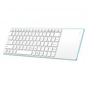Tastatura Rapoo Bluetooth E6700 Touchpad White / Blue