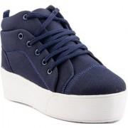 Clymb Queen-1 Blue Heel Sneakers For Women's In Various Sizes