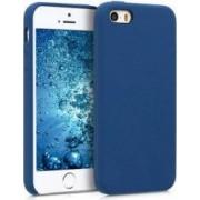 Husa Senno Neo Full Silicone pentru Apple iPhone 5 5S sau SE Blue