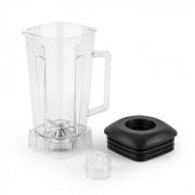 Herakles Jar Copo Misturador de Plástico Transparente Isento de BPA Preto
