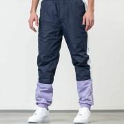 FILA Al Woven Track Pants Violet Tulip/ Black Iris/ Bright White