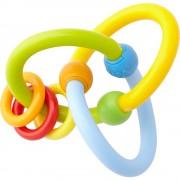 Jucărie moale pentru dezvoltarea dexterităţii bebeluşilor - Carusel