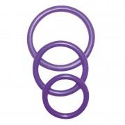 NMC Cock & Ball Rings Purple 0514250