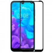 Pelicula de Vidro Huawei Y6 2019, Honor 8A Full Face 3D Preto