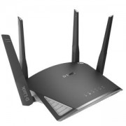 Рутер D-link EXO AC2600 Smart Mesh Wi-Fi Router, 2600Mbps, 2.4 GHz (800 Mbps)/ 5GHz (1,733 Mbps), 4x LAN 100/1000, DIR-2660