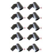 Kit com 10 Cachimbos para Microfones com Fio - Vector