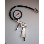Pistol pneumatic umflat roti - cu manometru