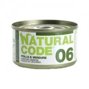 NATURAL CODE CAT 06 POLLO E VERDURE 85GR