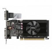 Placa video MSI nVidia GeForce GT 710 1GB DDR3 64bit low profile