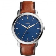 Fossil Mens Leather Analogue Watch -FS5304